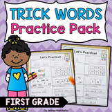 Level 1 Trick Words Practice Pack