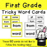 First Grade Yellow Tricky Words  - Great for CKLA Units 1-7