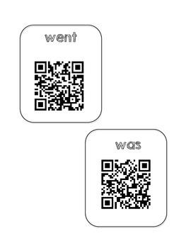 First Grade Trimester Words (QR Voice)
