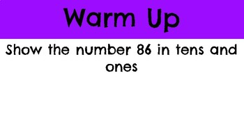 First Grade Two- Digit Addition