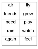 First Grade Unit 3 Sight Words (High Frequency Words)