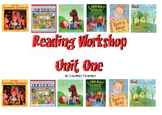 First Grade Unit One Reading Workshop Smartnotebook Lessons