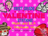 First Grade Valentine Stations