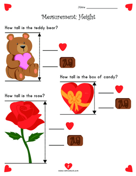 Valentine's Day Math and Literacy Activities - 1st Grade