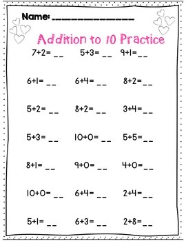 First Grade Valentine's Day Math & ELA Common Core Activity Set