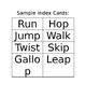 First Grade Verbs Relay Race Lesson Plan (PE and ELA)