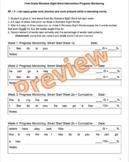 First Grade WONDERS Sight Word Intervention Progress Monitoring