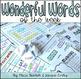 First Grade WONDERful Words of the Week