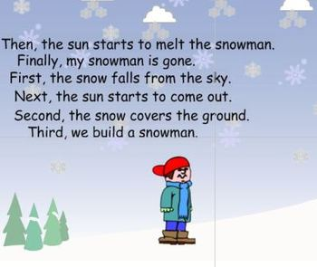 First Grade Weather Lesson on Snow