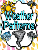 First Grade Weather Patterns and Data FULL Unit