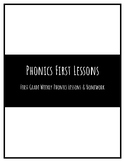 First Grade Weekly Phonics Lessons & Resources