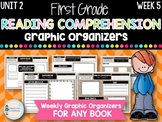 First Grade Weekly Reading Graphic Organizers (Unit 2, Week 5)