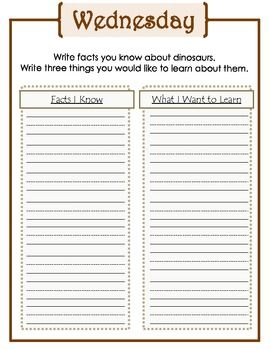 First Grade Weekly Writing Journals Unit 4