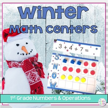 First Grade Addition and Subtraction Math Centers