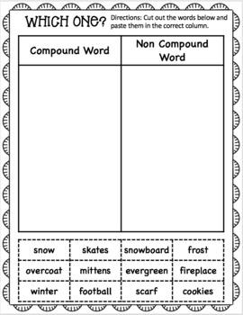 First Grade Winter Math and Language Art Worksheet Pack