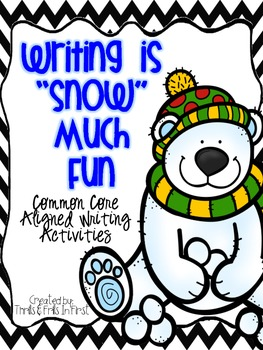 Winter Writing- persuasive letter, labeling activities & s