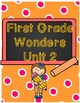 First Grade Wonders Binder Covers Bundle