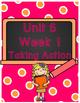 First Grade Wonders Binder Covers Unit 6