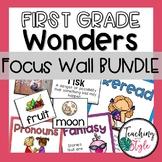 First Grade Wonders Focus Wall BUNDLE