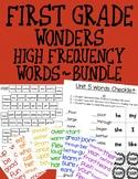 First Grade Wonders HFW Bundle