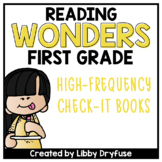 First Grade Wonders High-Frequency Word Books