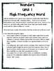 First Grade Wonders McGraw Hill Unit 1 Add On Sentences