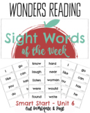 First Grade Wonders Word Wall Sight Words of the Week from Wonders