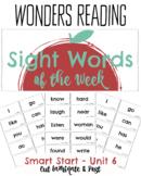 First Grade Wonders Word Wall Sight Words of the Week from Wonders
