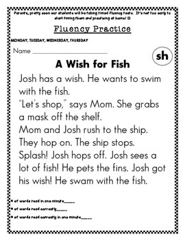 First Grade Wonders Reading Unit 1 Review Homework