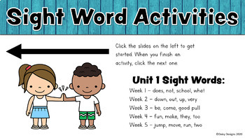 First Grade Wonders - Unit 1