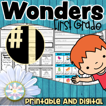 First Grade Wonders - Unit 1