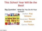 McGraw Hill Wonders FIrst Grade Reading Unit 1 Week 1