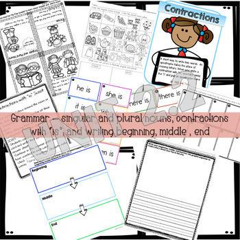 First Grade Wonders Unit 2 Lessons 1-4 Growing Bundle