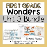 First Grade Wonders Unit 3 Bundle