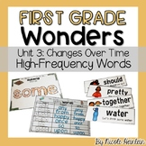 First Grade Wonders Unit 3 High-Frequency Activities