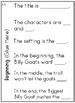 First Grade Wonders Unit 3 Week 3 Conversation Flip Books {ESL}