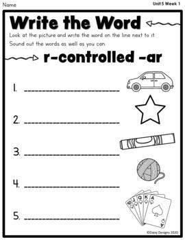 First Grade Wonders - Unit 5
