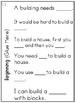 First Grade Wonders Unit 5 Week 5 Conversation Flip Books {ESL}
