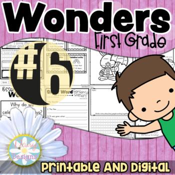 First Grade Wonders - Unit 6