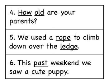 First Grade Wonders Write the Room - Unit 3 Week 4