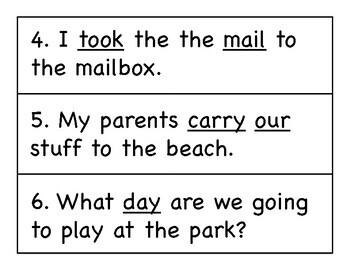 First Grade Wonders Write the Room - Unit 4 Week 1