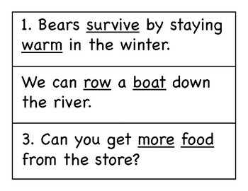 First Grade Wonders Write the Room - Unit 4 Week 3