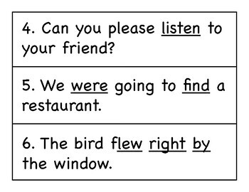 First Grade Wonders Write the Room - Unit 4 Week 4
