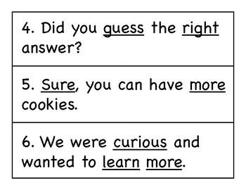 First Grade Wonders Write the Room - Unit 5 Week 3