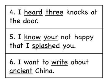 First Grade Wonders Write the Room - Unit 6 Week 4