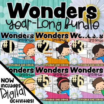 First Grade Wonders Year Long GROWING BUNDLE