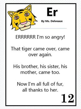 Word Family Poems - First Grade Edition