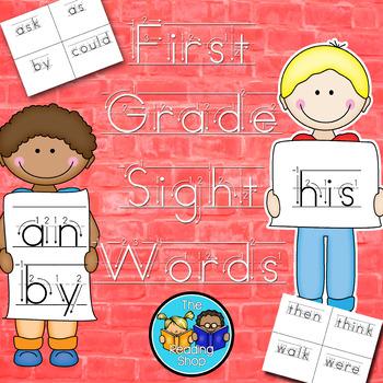 First Grade Sight Words - Handwriting