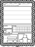 First Grade Word Problem Worksheet