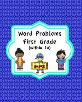 First Grade Word Problems